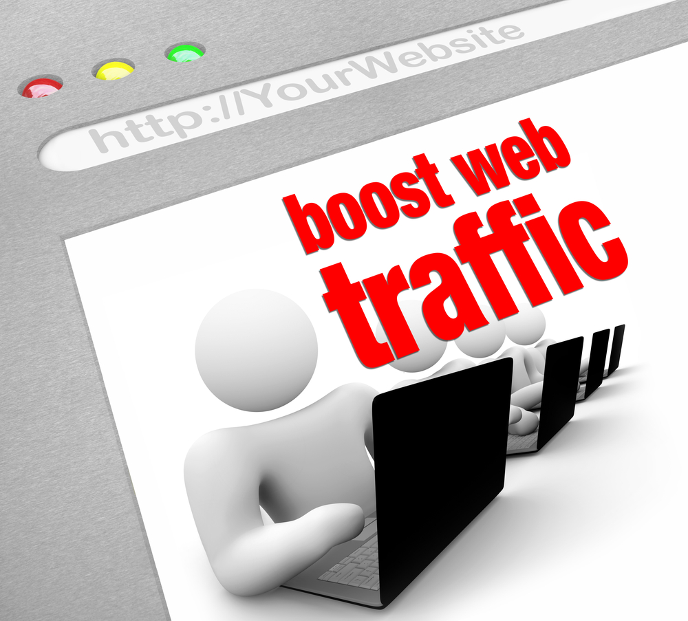 How to increase web traffic ? | One Stop Article